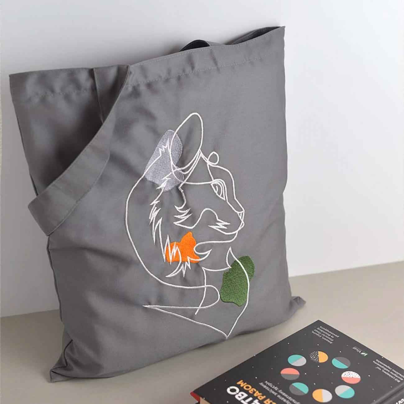 Еко сумка. Кішка