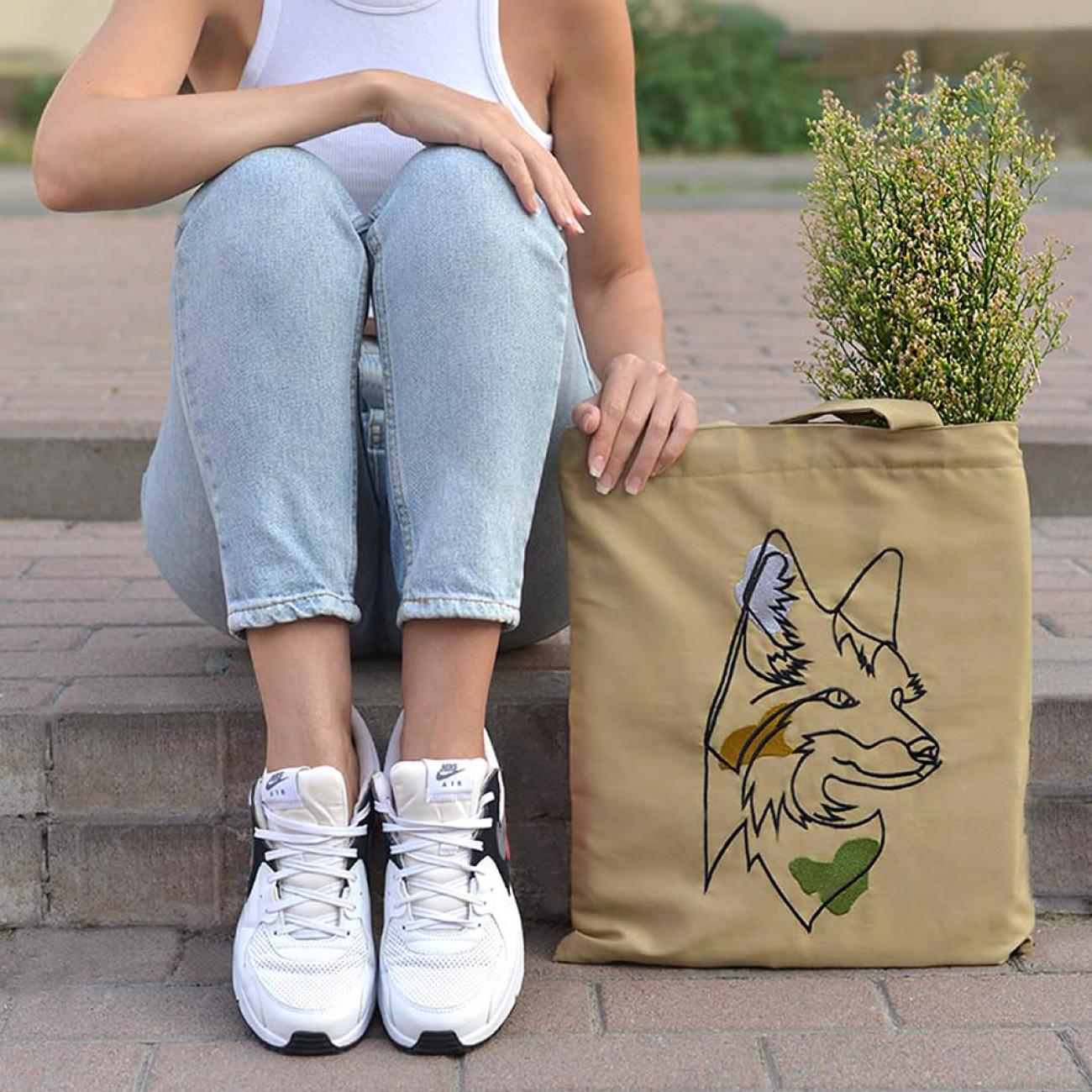 Еко сумка. Лисиця